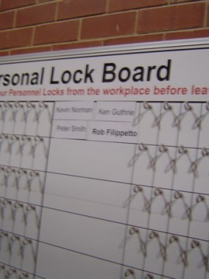 Lock boards