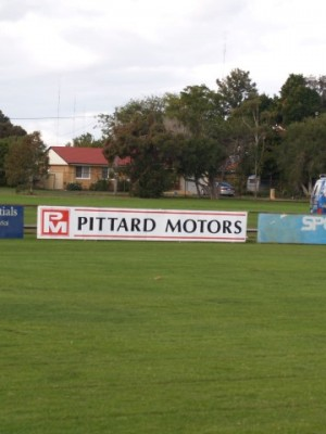 Footy Surround Signs