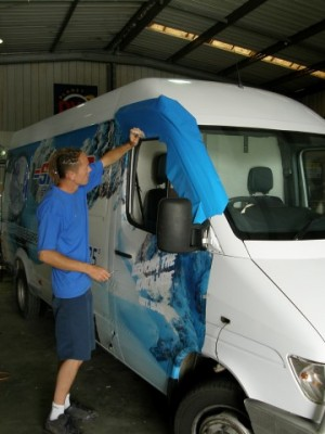 Complete Vehicle Wrap Application